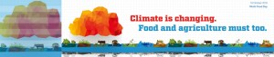 Climate is changing. Food and agriculture must too. FAO, 2016
