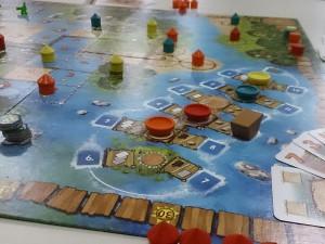 Das Spielfeld von Mangrovia